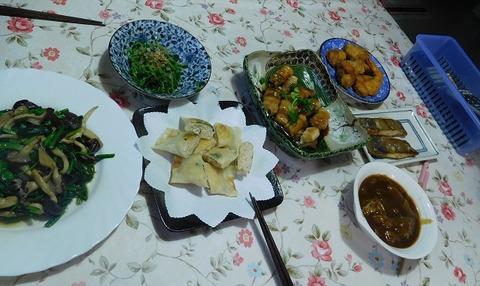 5月21日の夕食