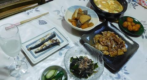 8月4日の夕食