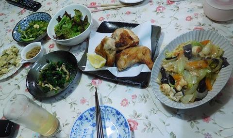 7月5日の夕食