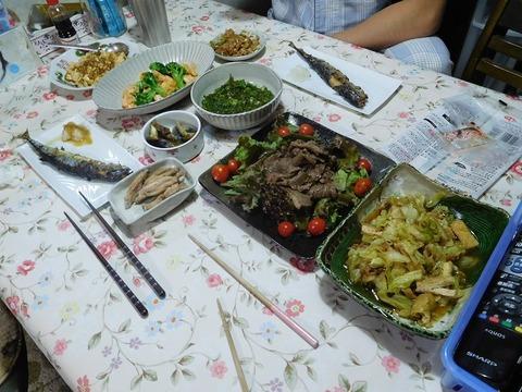 9月19日の夕食