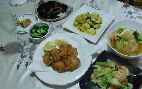 9月16日の夕食