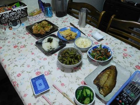 10月21日の食卓