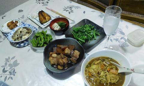 7月27日の夕食