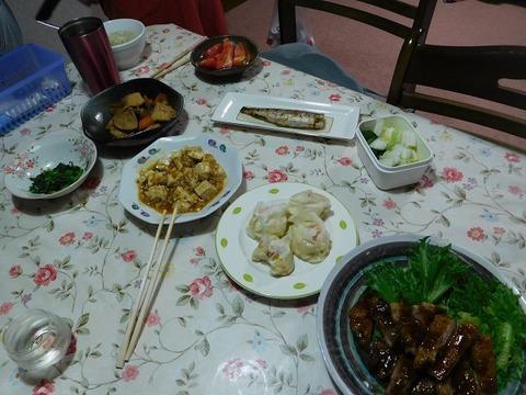 9月6日の夕食