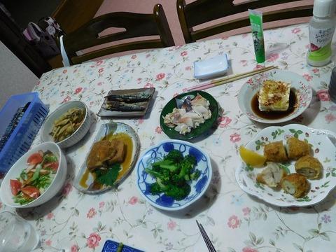 4月25日の夕食
