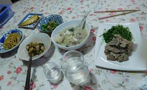 3月17日の夕食
