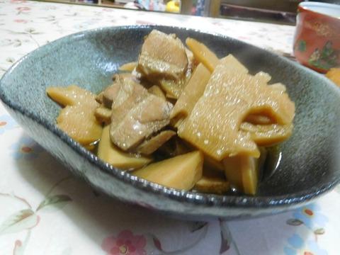 若竹の豚肉煮