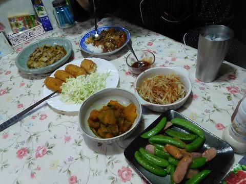 6月25日の夕食