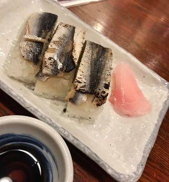 あぶりままかり寿司