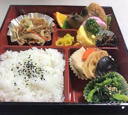 浜田市講演後のお弁当