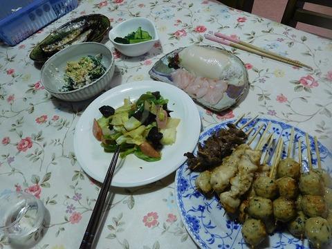 6月20日の夕食