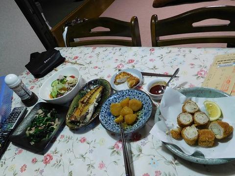12月28日の夕食