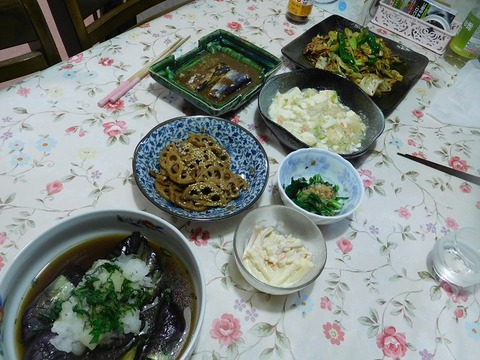 6月5日の夕食