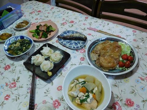 8月18日の食卓