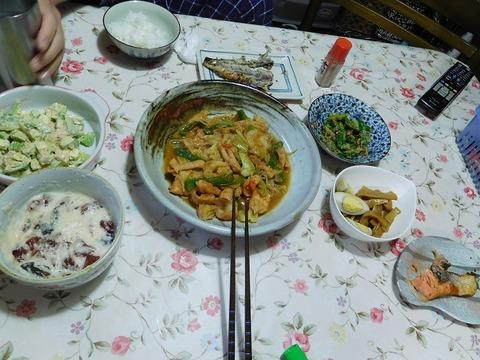 2月24日の夕食