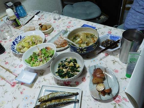 3月12日の夕食