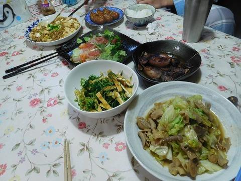 5月23日の夕食