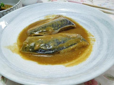 サバ味噌煮