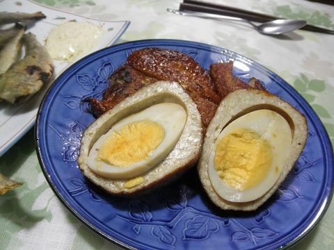 卵入りおび天