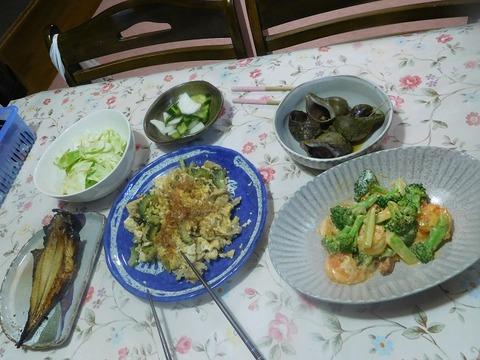 5月1日の夕食
