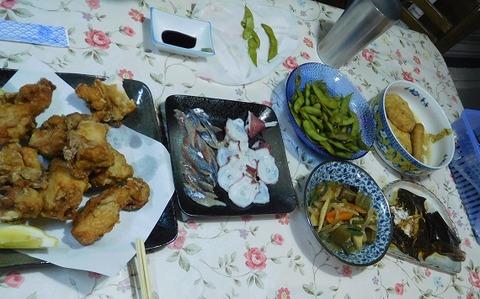 8月28日の夕食