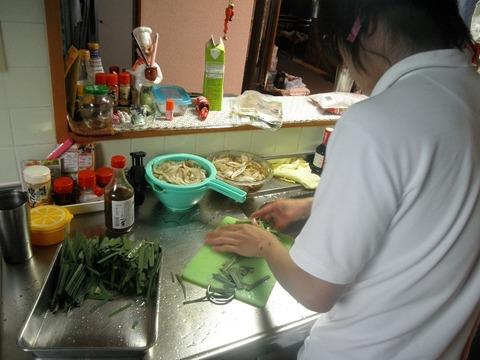 二男の料理
