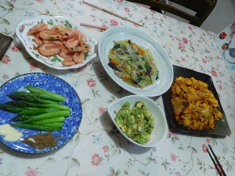 5月18日の夕食