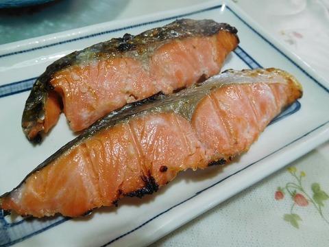 鮭の塩こうじ焼き