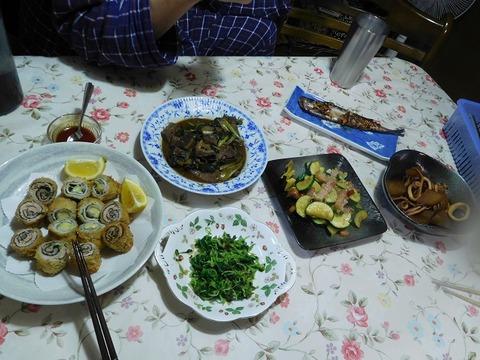 3月27日の夕食