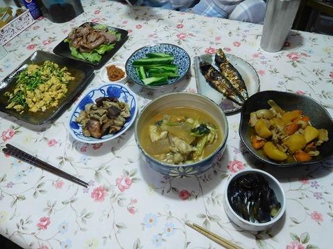 10月18日の夕食