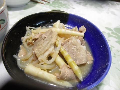 豚肉と筍の味噌煮