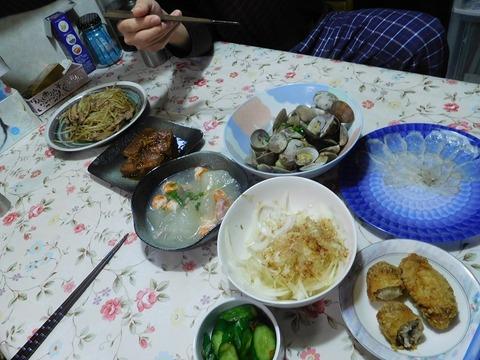 10月29日の夕食