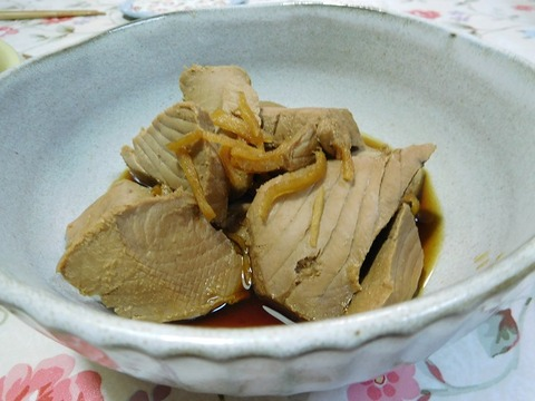 鰹の生姜煮