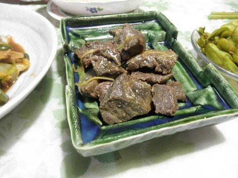 鯨の味噌煮