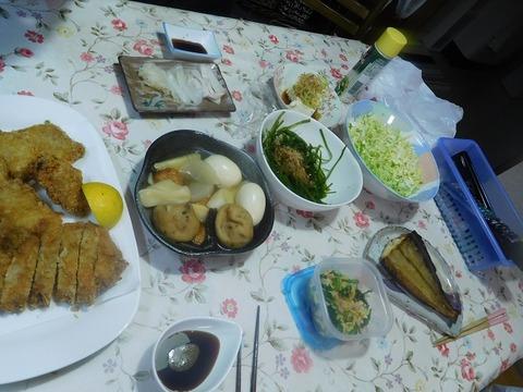 ㋃29日の夕食