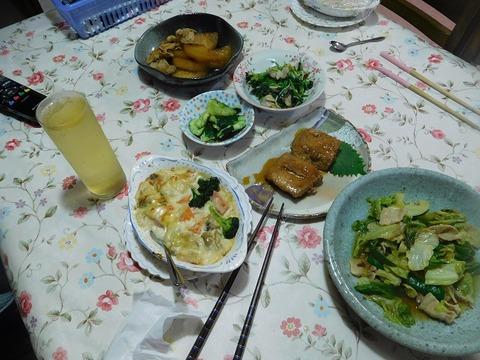 7月6日の夕食
