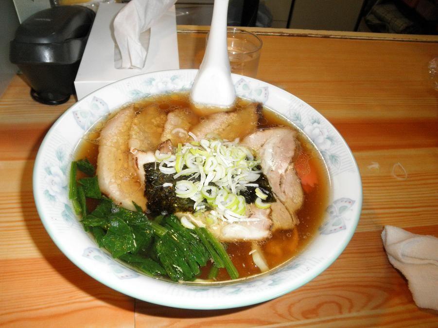 むろ市・塩チャーシュー麺