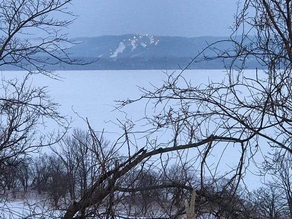結氷した網走湖