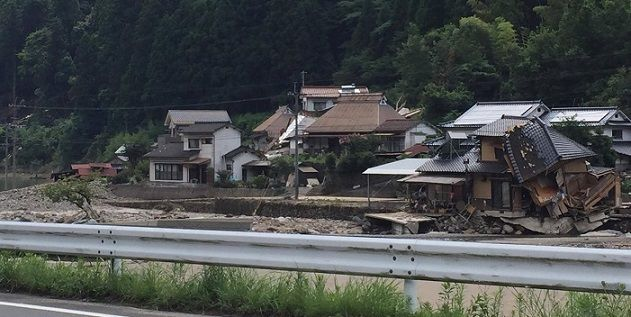 九州北部豪雨(大分県日田市)3