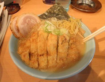 ふじ亭・味噌カツラーメン