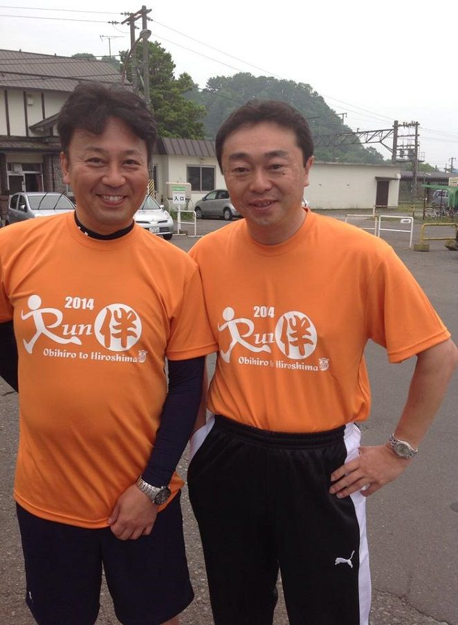 RUN伴・小笠原市長
