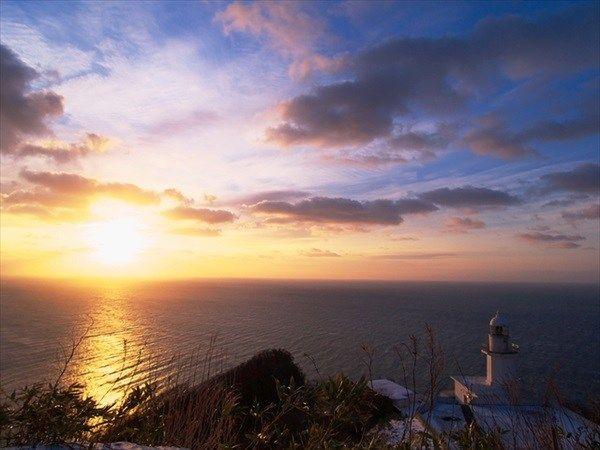地球岬の初日の出
