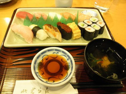 村木のお寿司