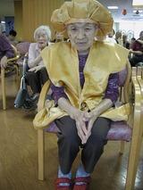 100歳の晴れ姿
