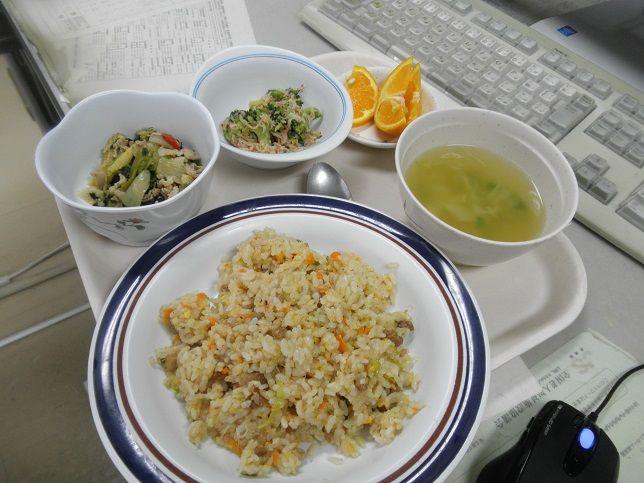 月曜日の昼食