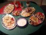 クリパ準備テーブル