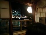 屋形船からの夜景