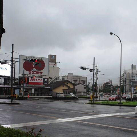 土佐道路は能茶山交差点の「龍(ロン)」で、豚骨ラーメン