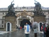 プラハ城もん