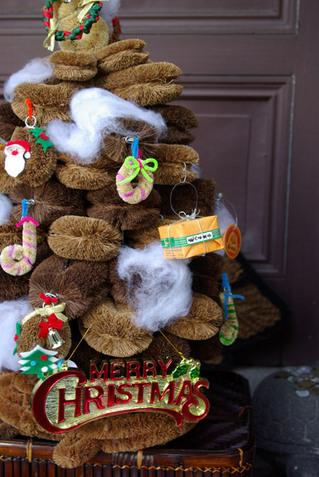 面白いクリスマスツリー